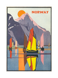 Norwegian Travel Ads