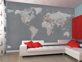 Map Wall Murals