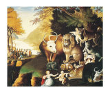 The Peaceable Kingdom by Hicks