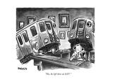 Train New Yorker Cartoons