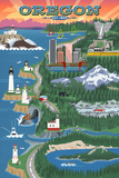 Oregon Travel Ads