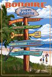 Bonaire Travel Ads
