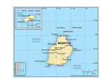 Maps of Mauritius