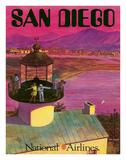 Lighthouses (Vintage Art)