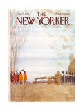 James Stevenson New Yorker Covers
