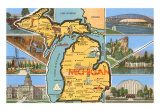 Maps of Michigan