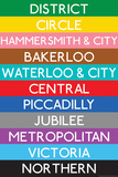 Subway Station Signs (Decorative Art)