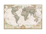 Maps Metal Prints