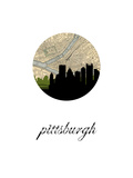 Maps of Pittsburgh, PA