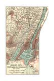 Maps of Newark, NJ