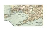 Maps of Naples