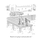 Phone New Yorker Cartoons