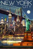 New York Travel Ads