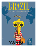 South American Travel Ads
