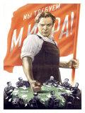Soviet Communist Poster