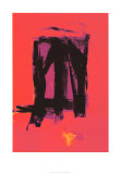 Red Painting, c.1961 Sérigraphie par Franz Kline