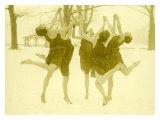 Snow Women Modern Dance