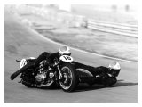 Moto Ducati Sidecar Motorcycle Race