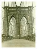 New York  Brooklyn Bridge Tower