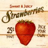 Sweet and Juicy Strawberries