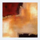 Crimson Accent II Reproduction d'art par Laurie Maitland