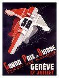 Grand Prix National Motorcycle Giclée