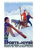 Mont Blanc  Sports d'Hiver