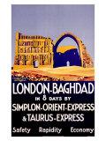 Simplon Orient Express  Baghdad  Iraq