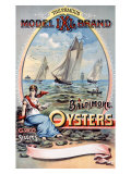 Model IXI Brand  Baltimore Oysters