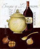 Soupe a l'Oignon Reproduction d'art par Sophie Hanin