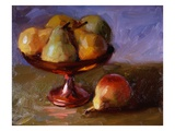 Pears and Copper Dish