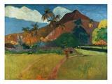 Montagnes tahitiennes Giclée par Paul Gauguin