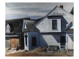 Maison sur la rivière Pamet Giclée par Edward Hopper