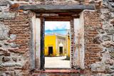 ¡Viva Mexico! Window View - The Yellow City in Izamal