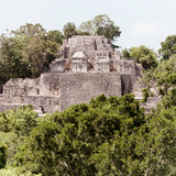 ¡Viva Mexico! Square Collection - Mayan Pyramid of Calakmul III