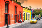 ¡Viva Mexico! Collection - Colorful Mexican Street at Sunset