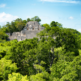 ¡Viva Mexico! Square Collection - Mayan Pyramid of Calakmul V