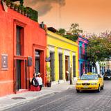 ¡Viva Mexico! Square Collection - Street Scene Oaxaca IV