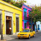 ¡Viva Mexico! Square Collection - Street Scene Oaxaca V