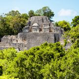 ¡Viva Mexico! Square Collection - Mayan Pyramid of Calakmul