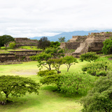 ¡Viva Mexico! Square Collection - Pyramid Maya of Monte Alban I