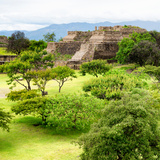 ¡Viva Mexico! Square Collection - Pyramid Maya of Monte Alban IV