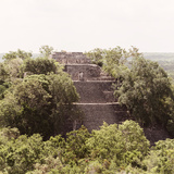 ¡Viva Mexico! Square Collection - Pyramid in Mayan City of Calakmul III