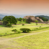 ¡Viva Mexico! Square Collection - Ruins of Monte Alban at Sunset II