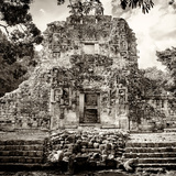 ¡Viva Mexico! Square Collection - Mayan Ruins of Campeche I