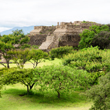 ¡Viva Mexico! Square Collection - Pyramid Maya of Monte Alban