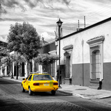 ¡Viva Mexico! Square Collection - Yellow Taxi in Oaxaca III