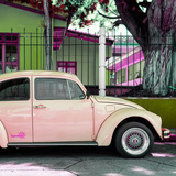 "¡Viva Mexico! Square Collection - ""Summer"" VW Beetle Car IV"