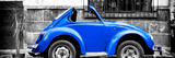 ¡Viva Mexico! Panoramic Collection - Small Royal Blue VW Beetle Car