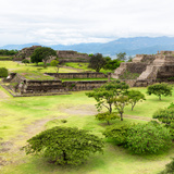 ¡Viva Mexico! Square Collection - Pyramid Maya of Monte Alban VII